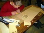 Verarbeitung des Rohstoffes Holz